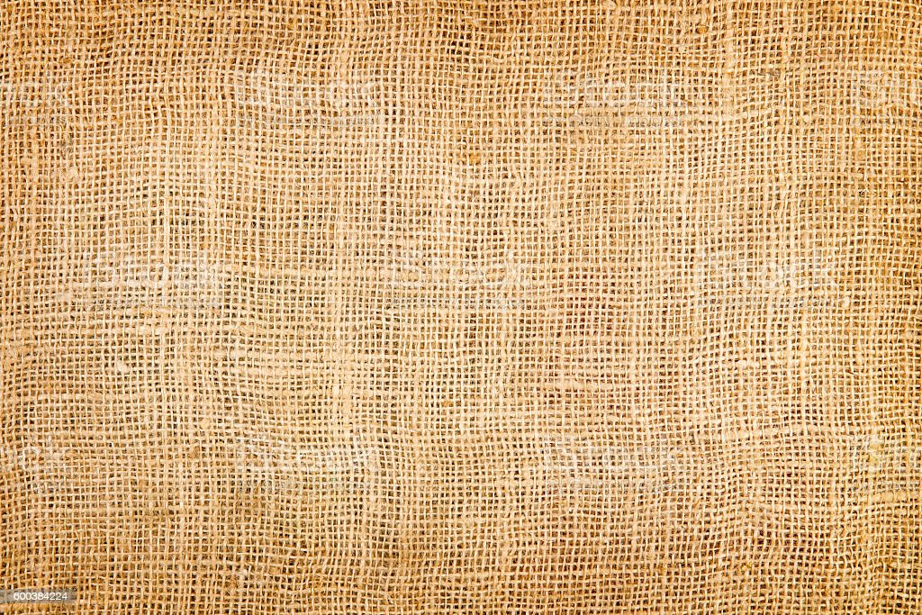 texture of a jute sack stock photo