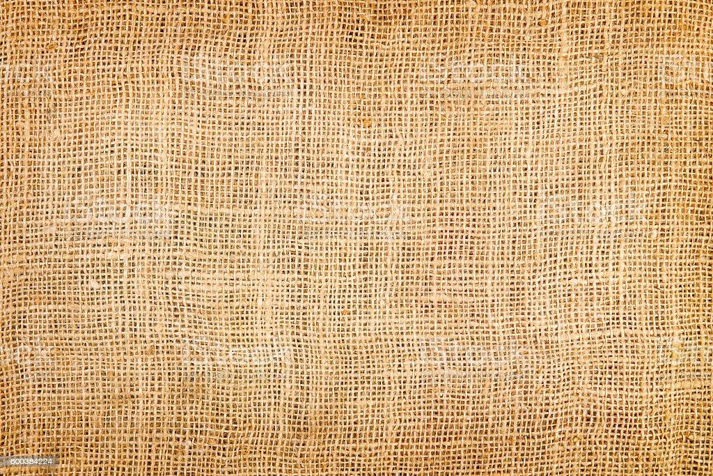 texture of a jute sack stock photo