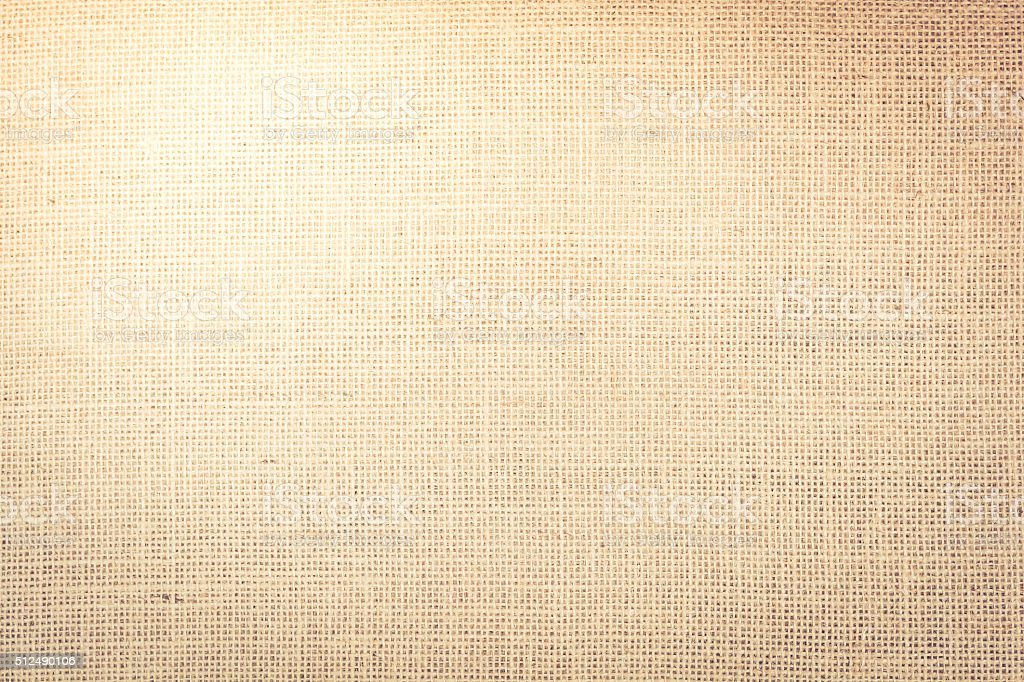 texture of a sackcloth for background stock photo