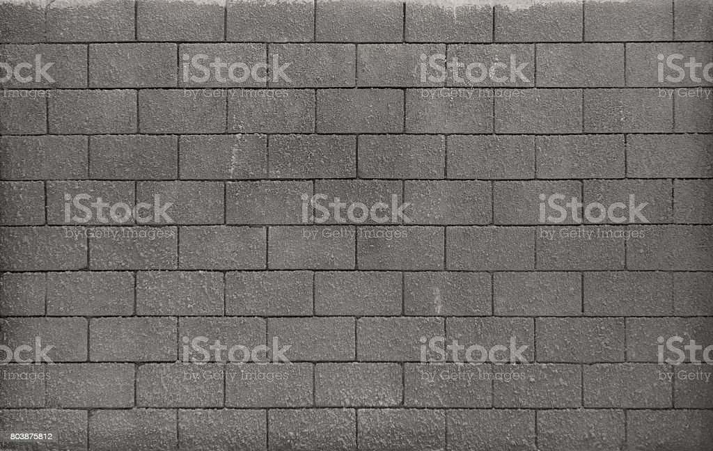 Texture of a wall of stone blocks stock photo