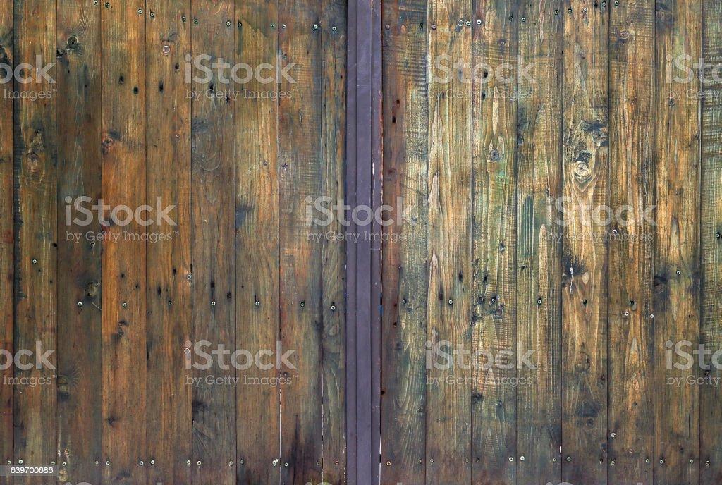 Texture of a Wooden Doors stock photo