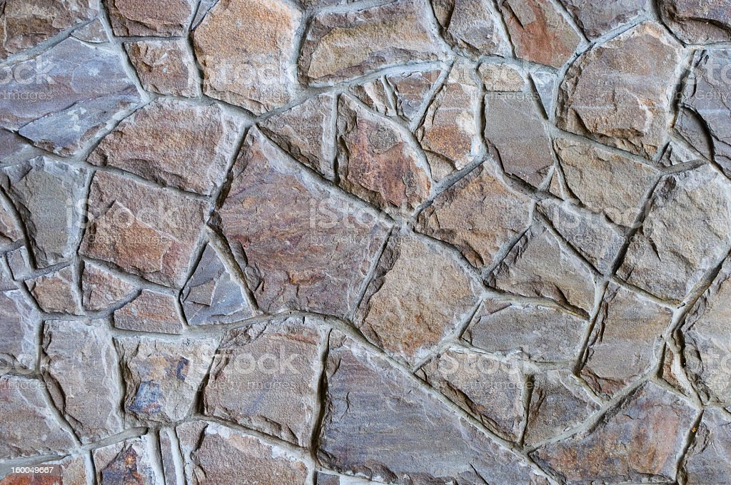 texture of ancient stone wall royalty-free stock photo