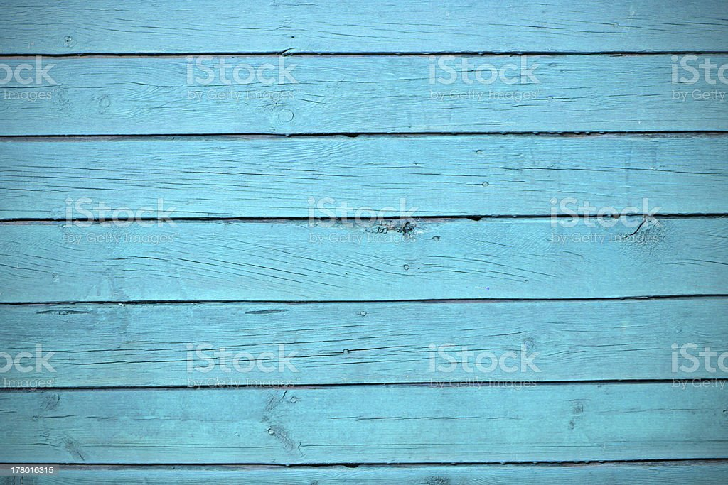 texture of blue wood planks stock photo