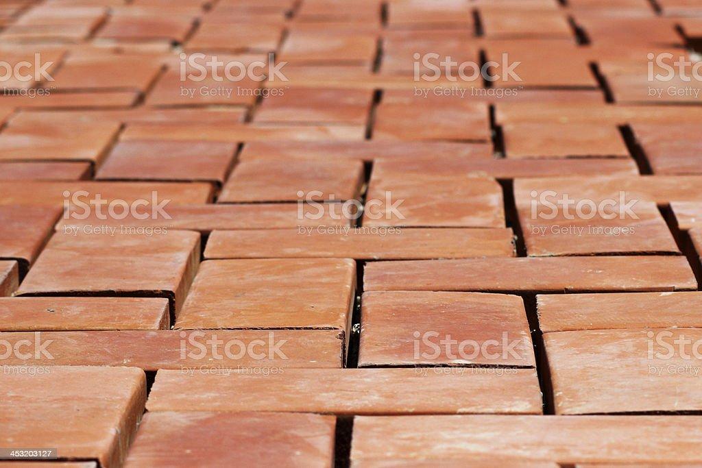 Texture of  bricks. royalty-free stock photo