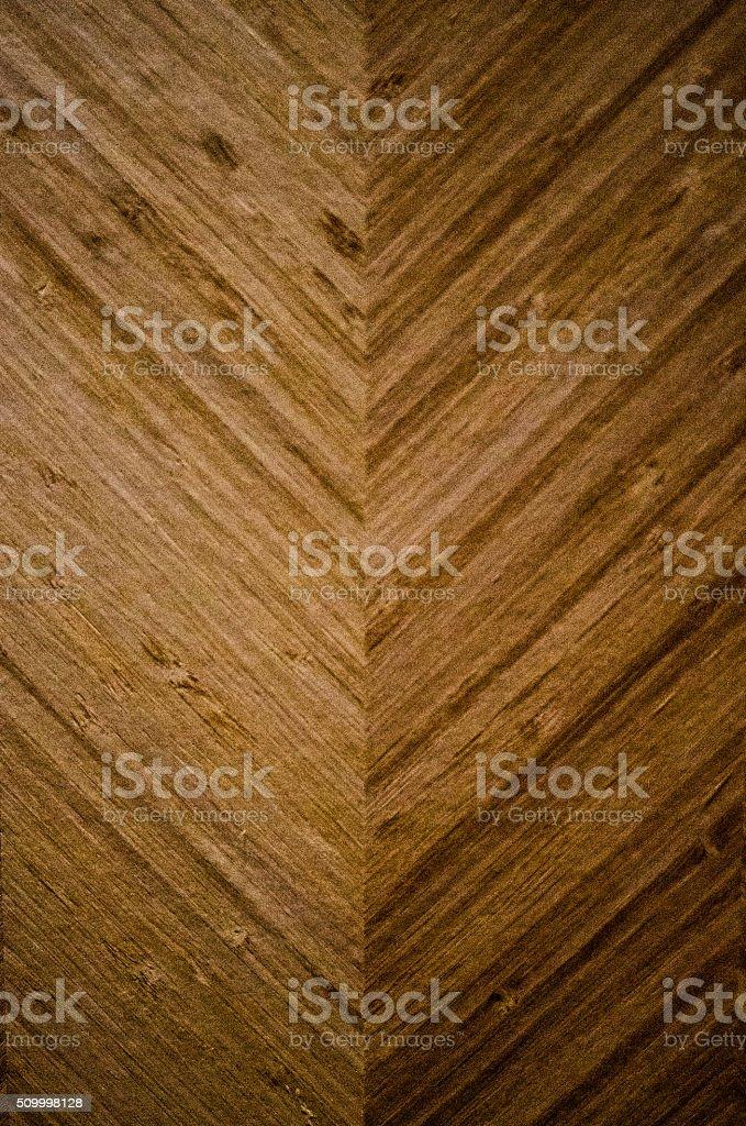 Texture of chevron wood inlay stock photo