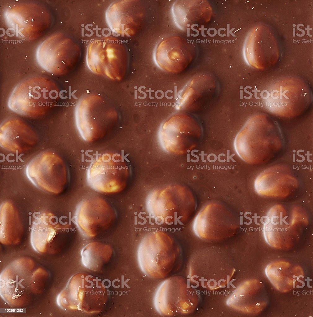 Texture of chocolate stock photo