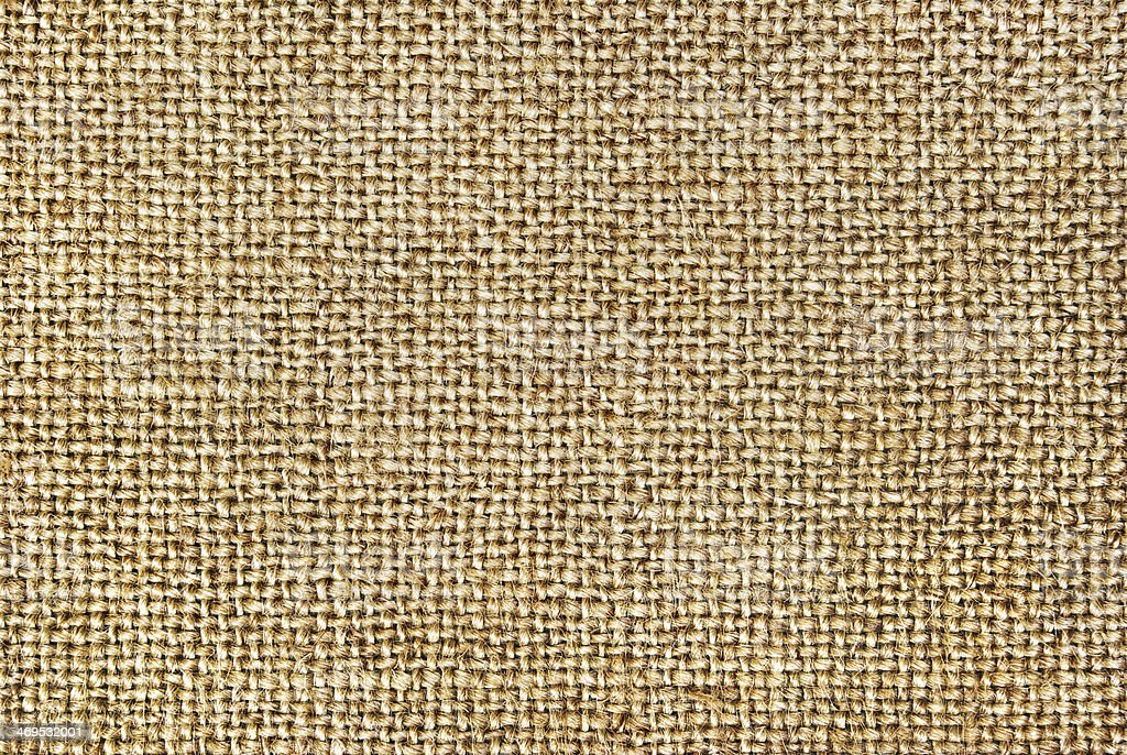 Texture of coarse cloth, burlap. royalty-free stock photo
