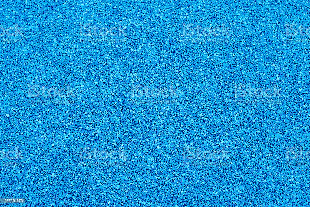 Texture of color rubber floor on playground stock photo