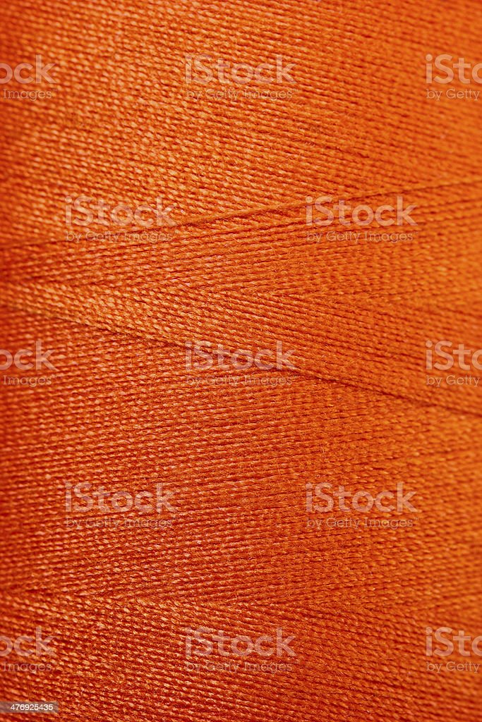 texture of Colorful thread in spool royalty-free stock photo