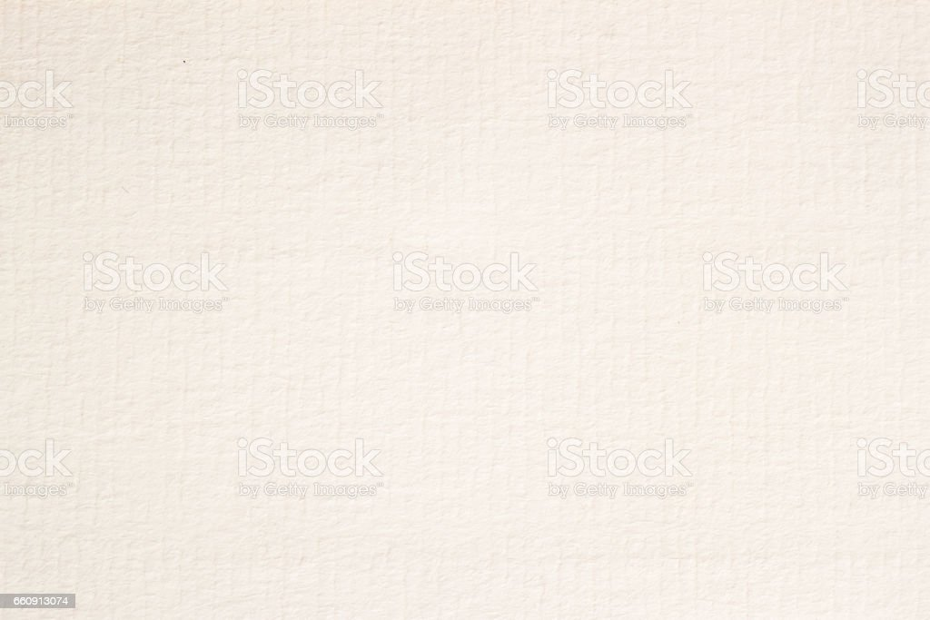 Texture of cream-coloured pastel paper for artwork. With place your text, for modern background, pattern, wallpaper or banner design stock photo
