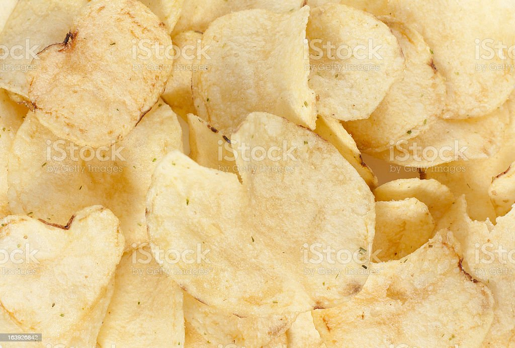 texture of crisps royalty-free stock photo