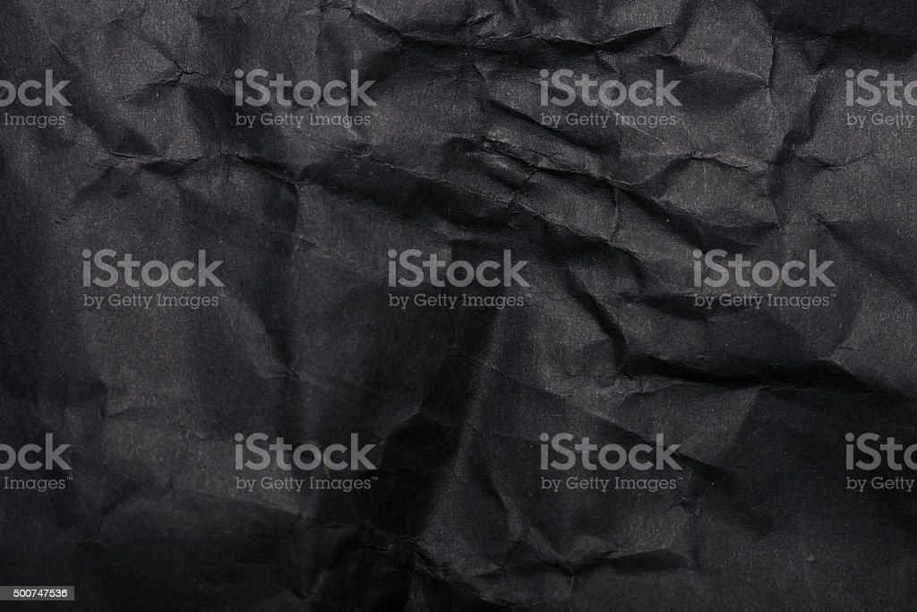 Texture of crumpled paper stock photo