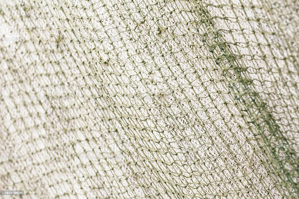 texture of fishing net, background stock photo