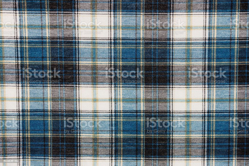 Texture of flannel shirt stock photo