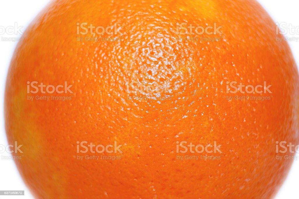 Texture of fresh orange peel zest stock photo