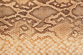 Texture of genuine leather close-up, embossed under the skin