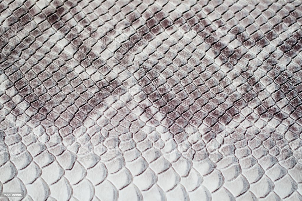 Texture of genuine leather close-up, embossed under the skin stock photo