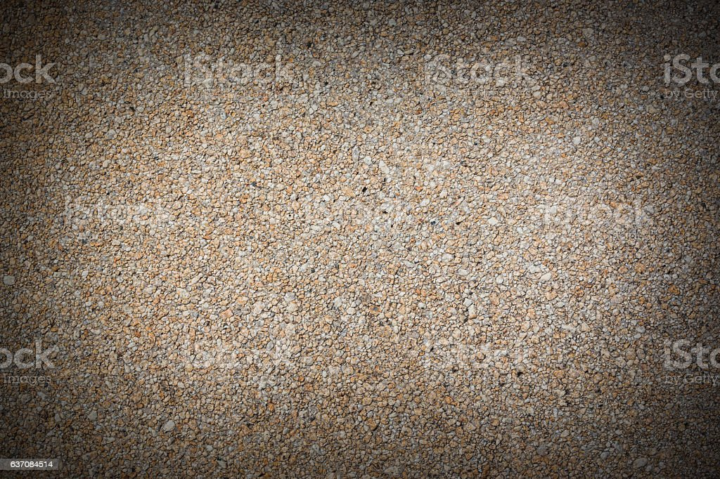 Texture of gravel concrete wall background. stock photo