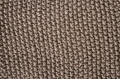 Texture of gray fabric of woven wool
