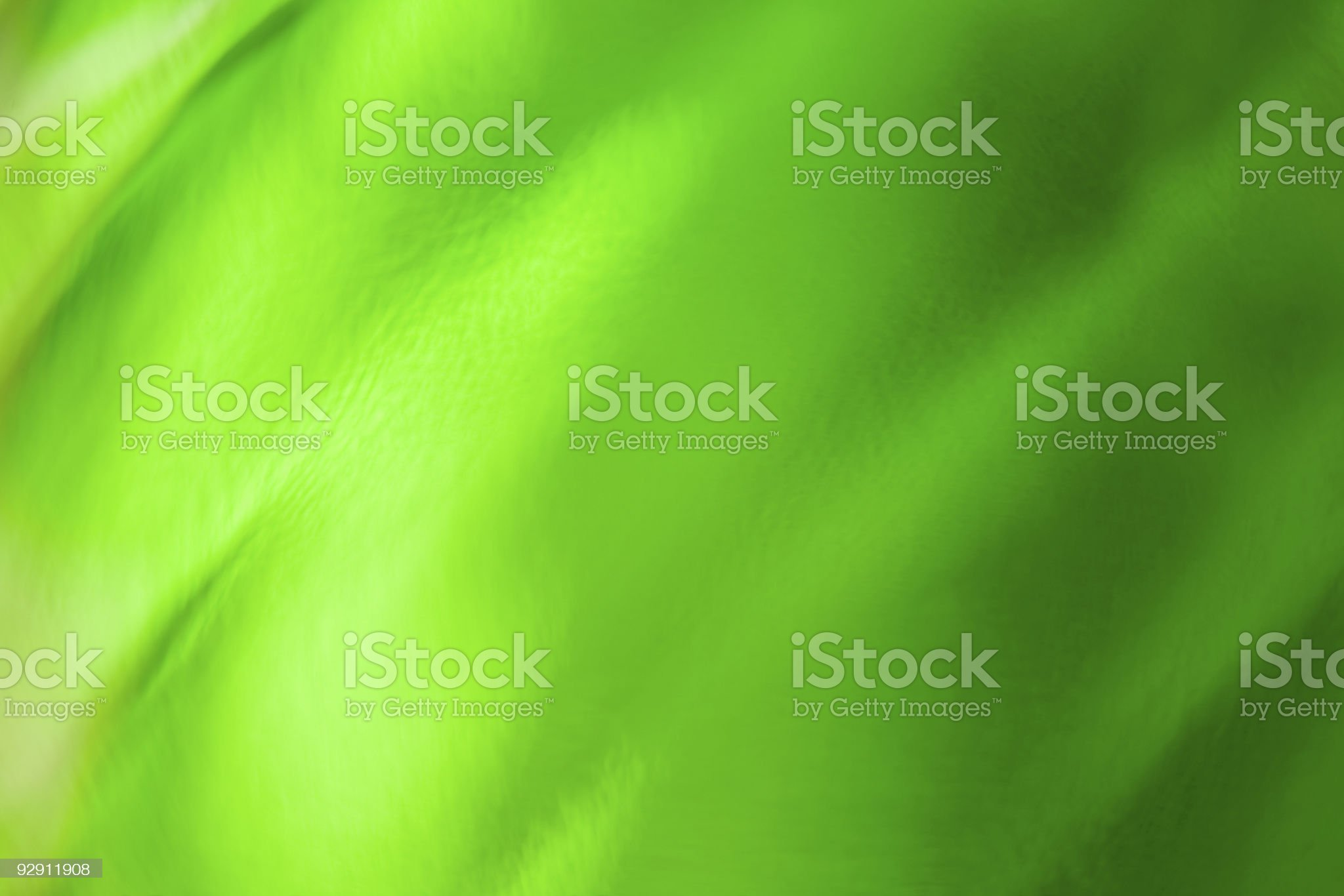 Texture of green wavy glass. royalty-free stock photo
