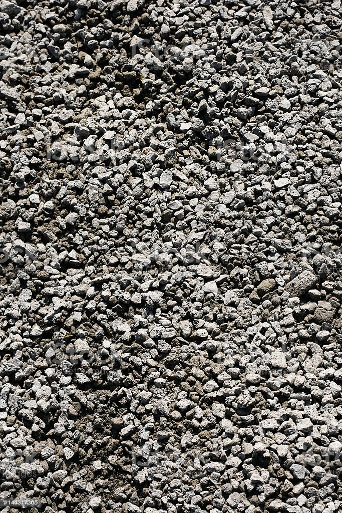 Texture of grey rubble royalty-free stock photo