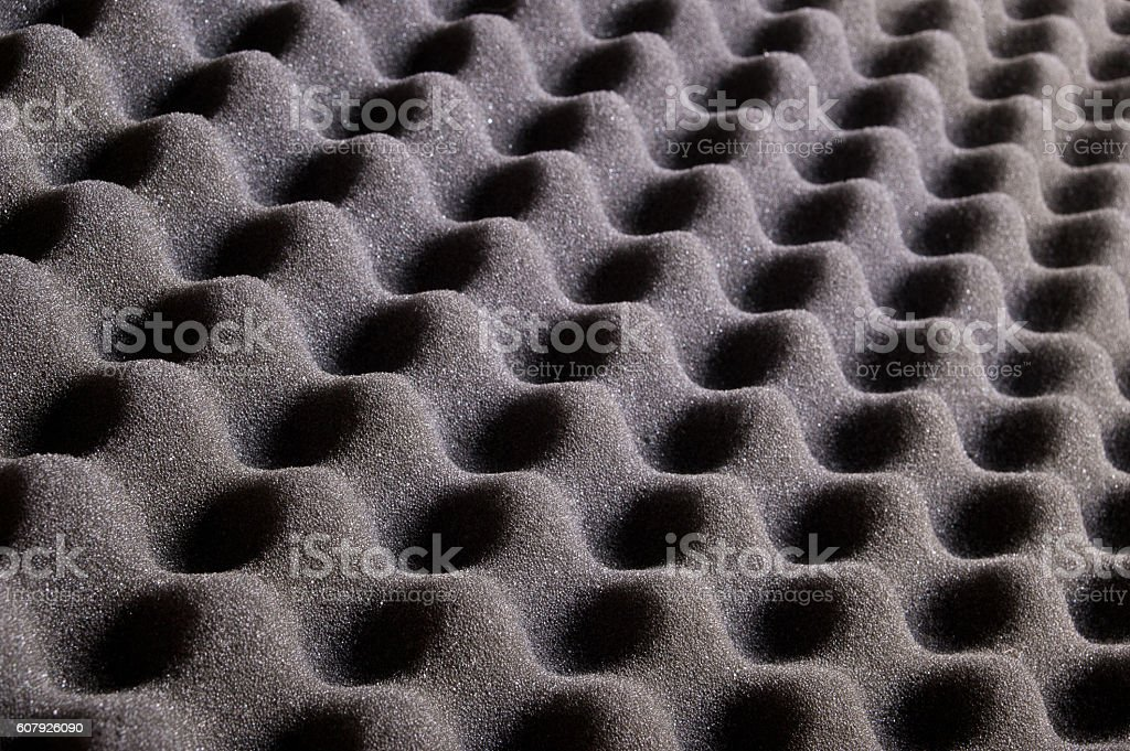 texture of grey sponge, waves for background stock photo