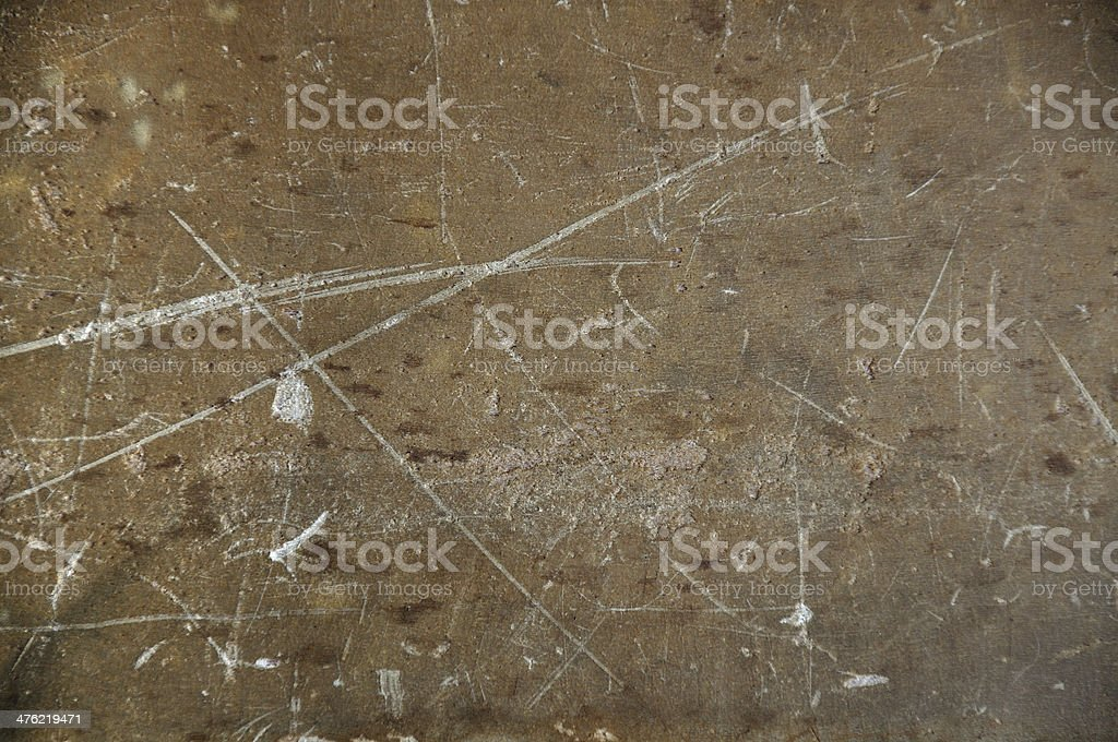 Texture of grunge and scratch plastic box royalty-free stock photo