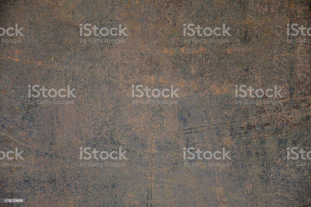 Texture of grunge metal sheet. royalty-free stock photo