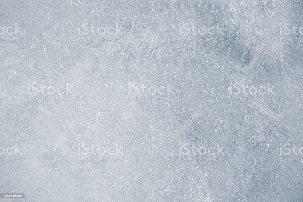 Texture of ice stock photo