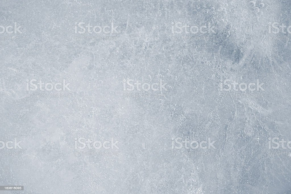 Texture of ice stock photo