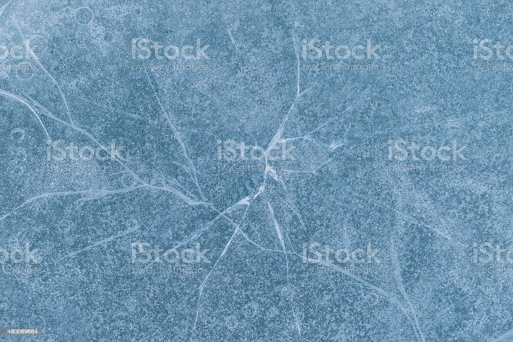 Texture of ice. stock photo