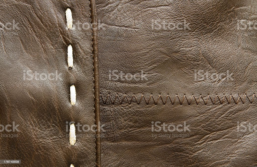 Texture of leather royalty-free stock photo