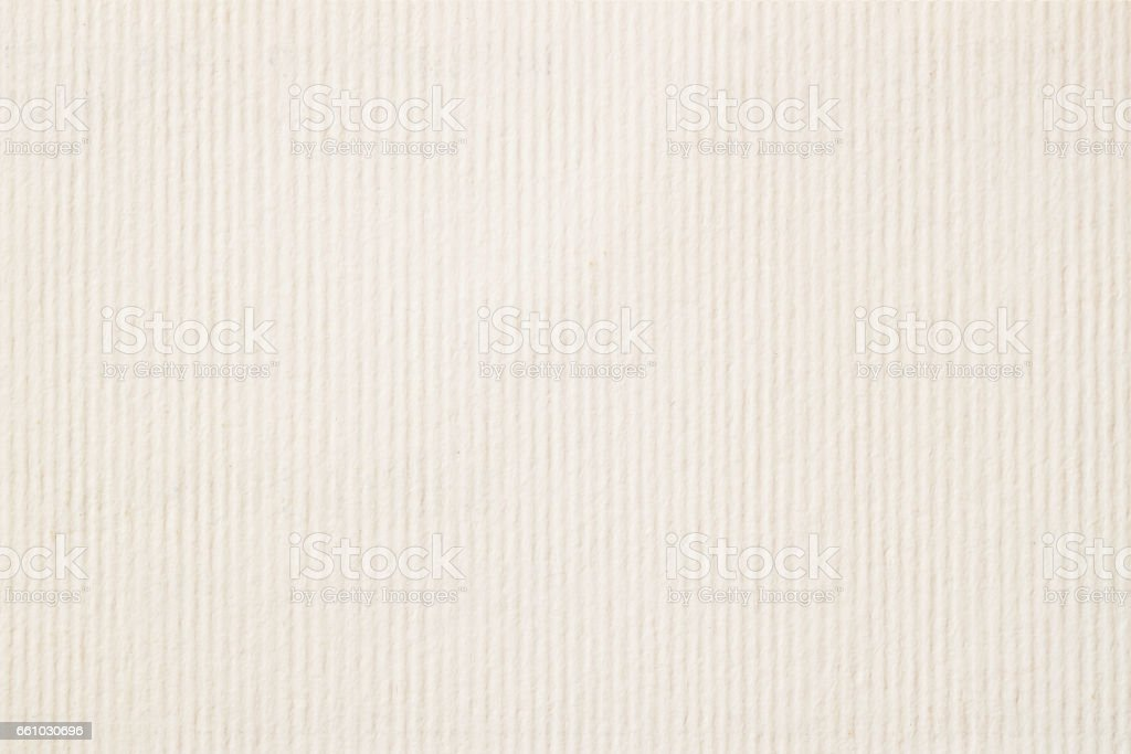 Texture of light cream in a strip paper, gentle shade for watercolor and artwork. Modern background, backdrop, substrate, composition use with copy space stock photo
