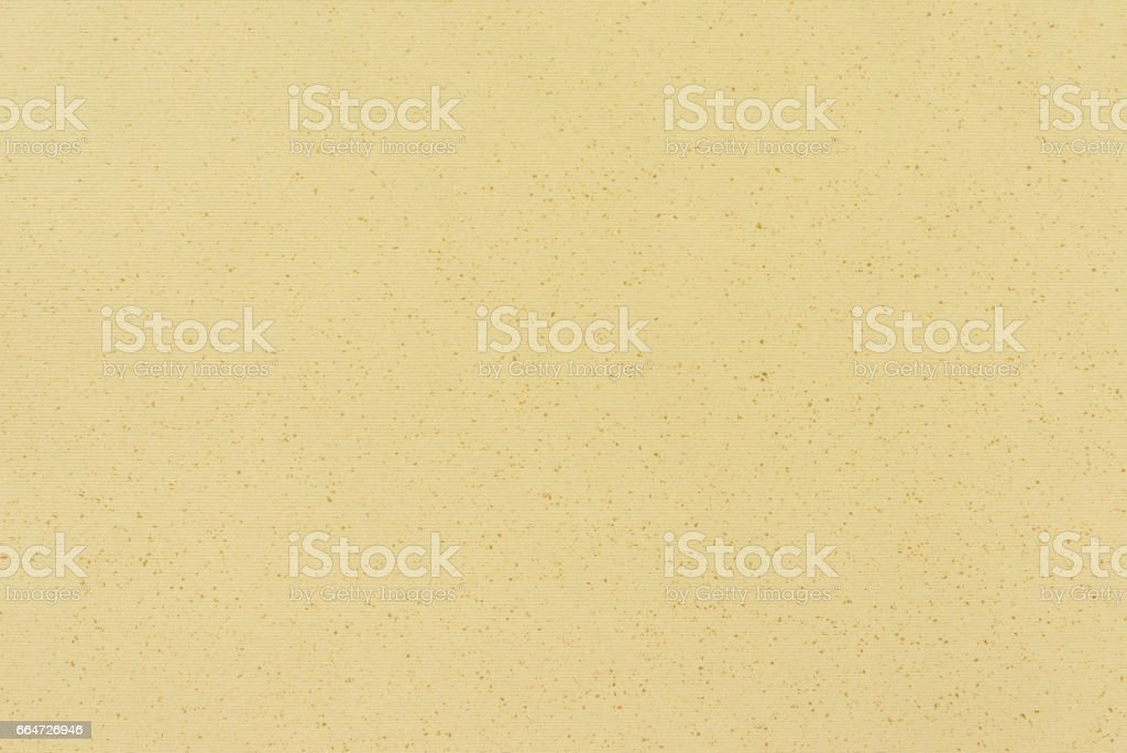 Texture of Light Gold or beige Design Paper stock photo