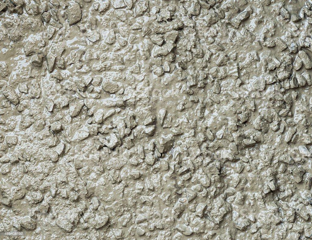 texture of mixed fresh concrete stock photo