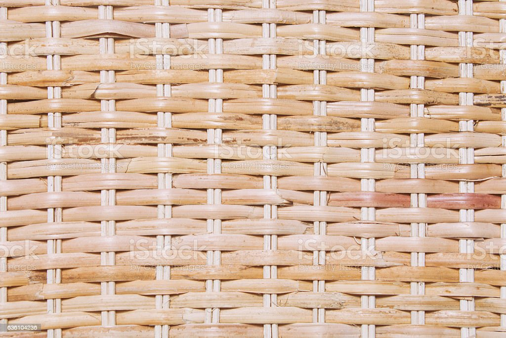 Texture of natural matherial weave background stock photo