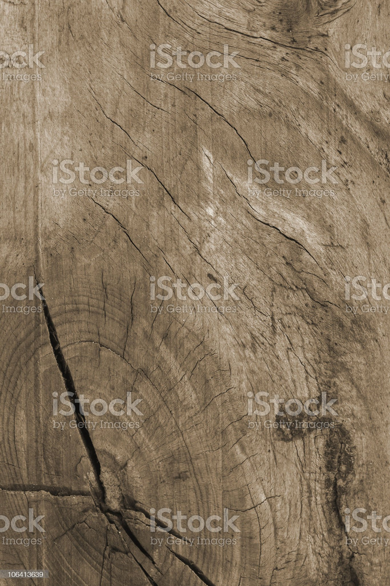 texture of old boards with knots royalty-free stock photo