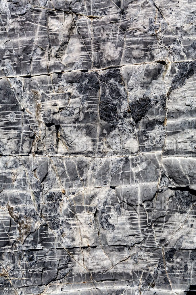 texture of old gray rock wall stock photo