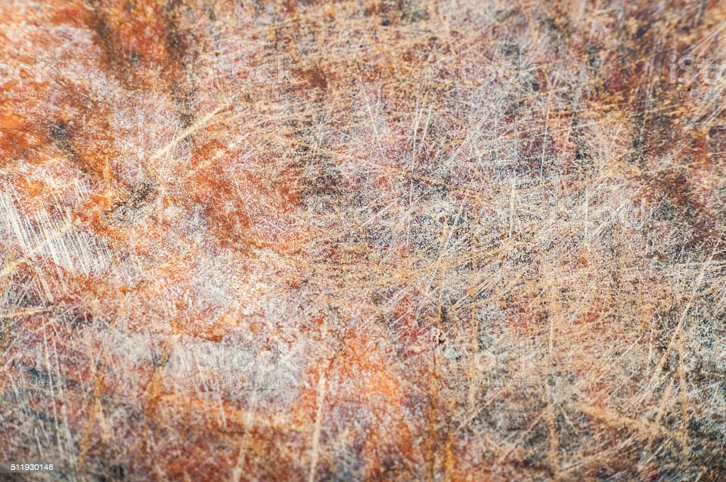 Texture of old kitchen board stock photo