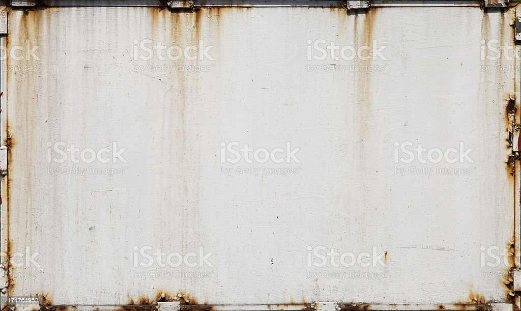 texture of old metal plate royalty-free stock photo