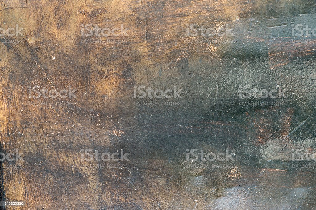 Texture of old rusty brushed metal stock photo
