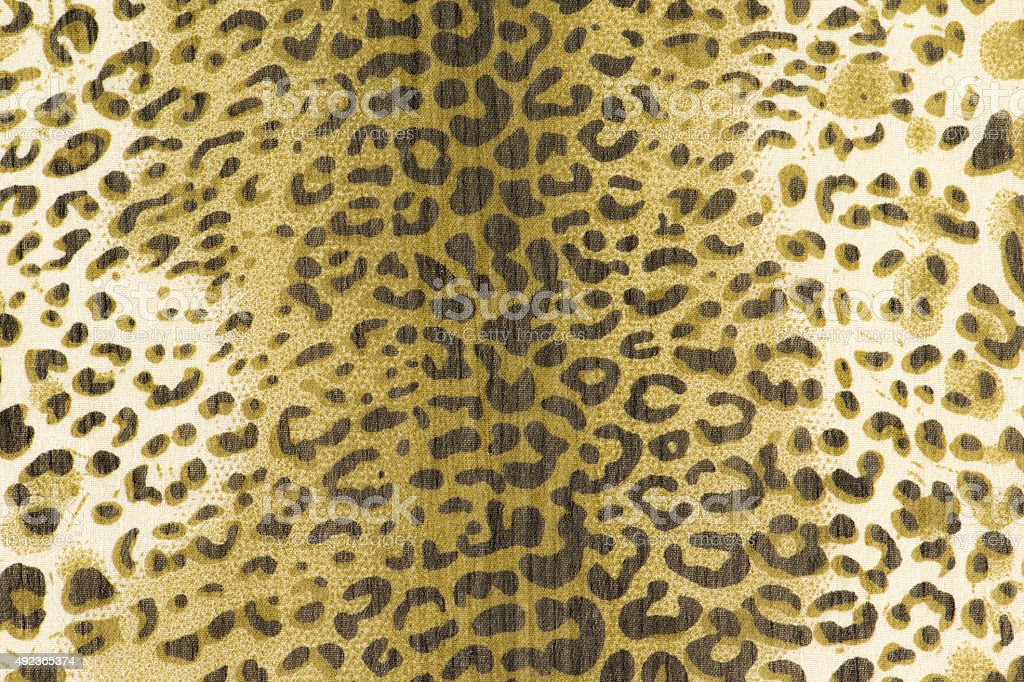 texture of print fabric stripes leopard for background stock photo