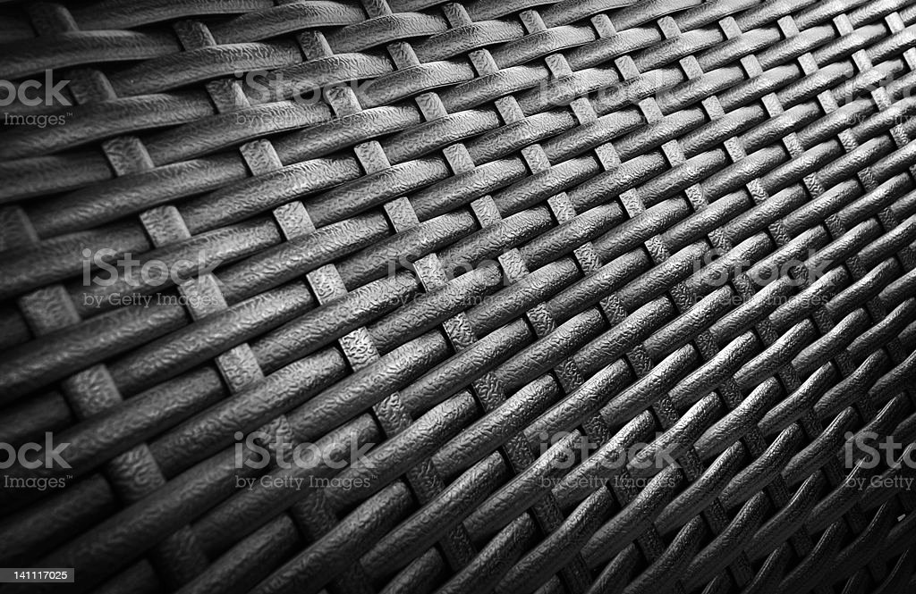 texture of rattan weave royalty-free stock photo
