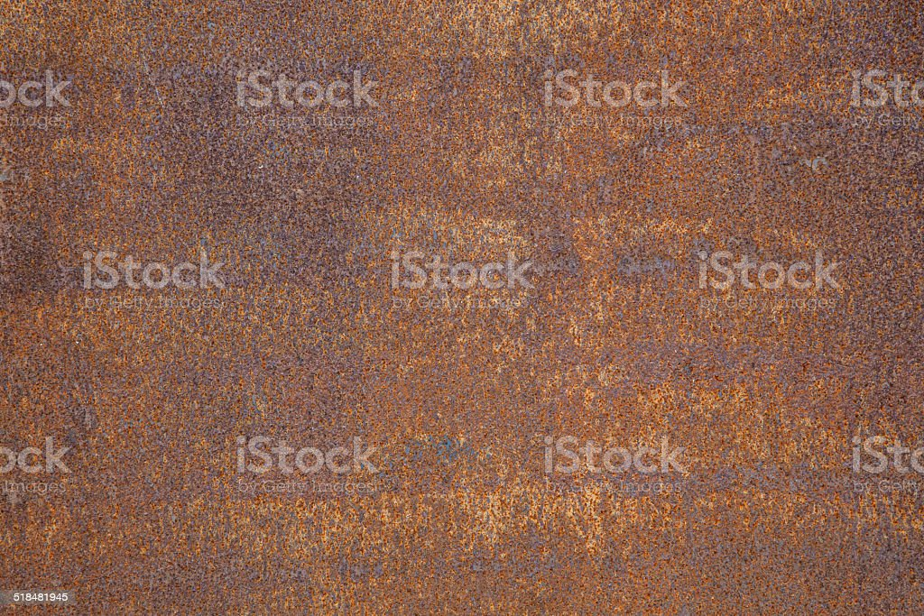 texture of rusted sheet metal stock photo