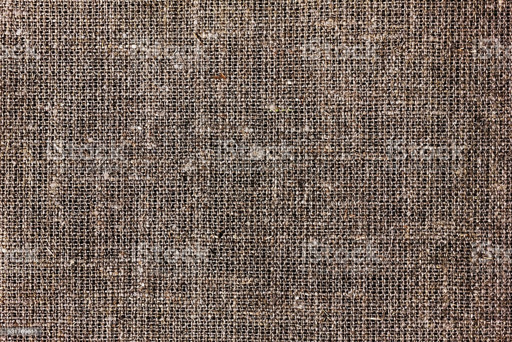 texture of sacking or hessian or burlap material stock photo