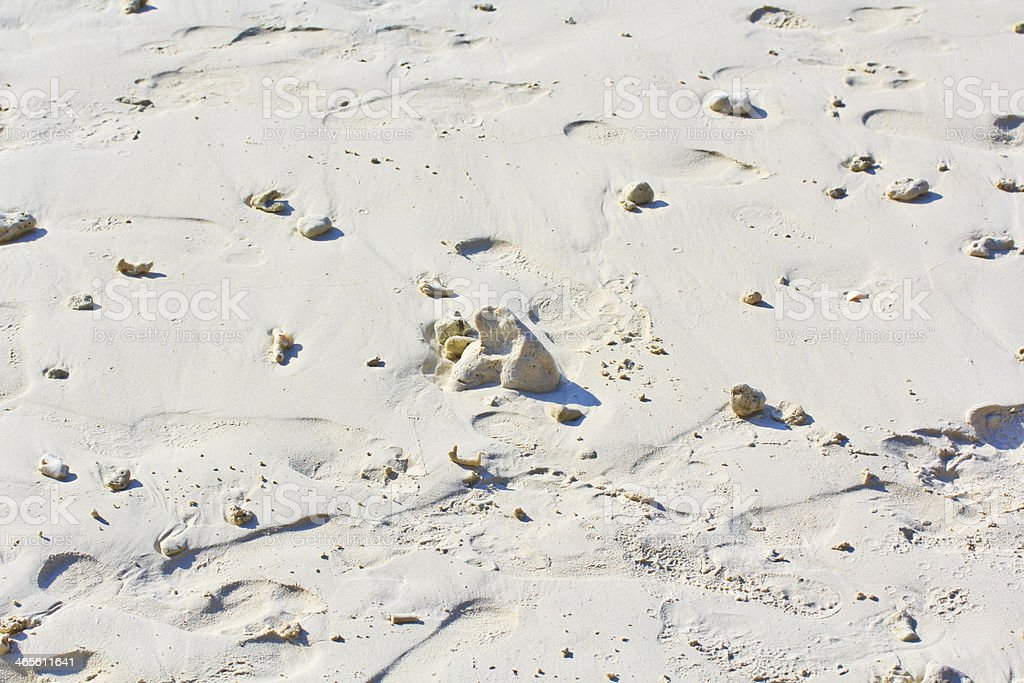 texture of sand on the beach thailand royalty-free stock photo