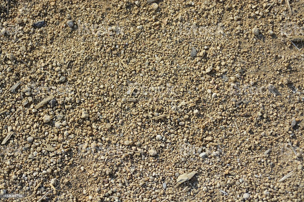 Texture of Sand royalty-free stock photo