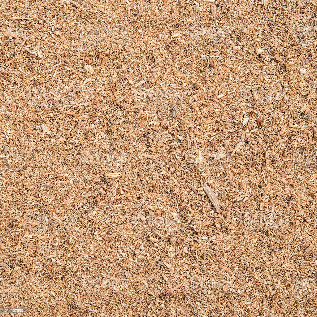 texture of sawdust stock photo
