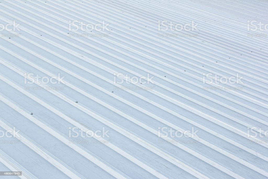 texture of stainless roof stock photo