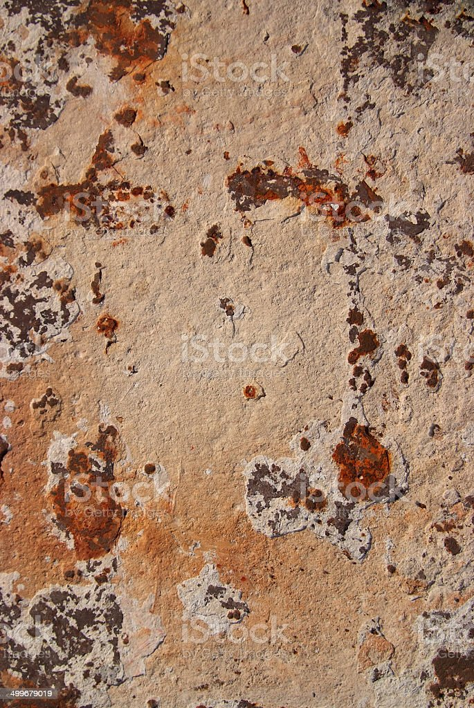 Texture of Steel for casting concrete blocks. stock photo